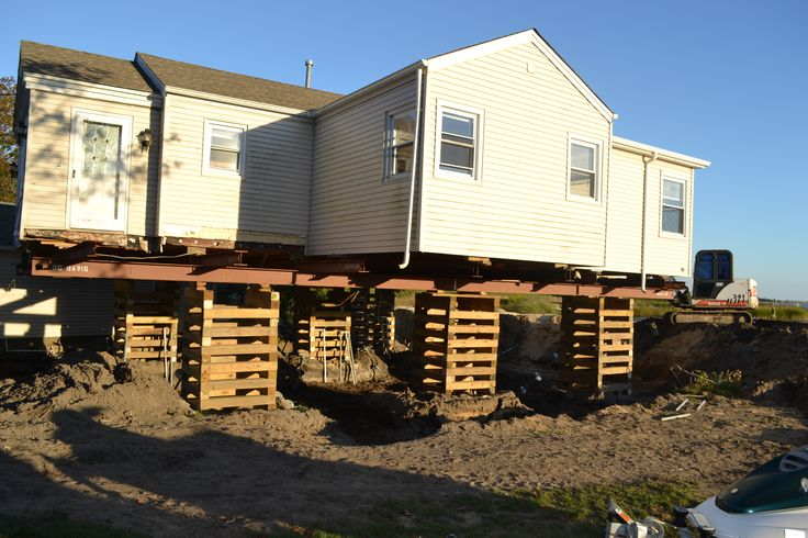 Long island house lifting engineers ny rising for Raising a house on pilings